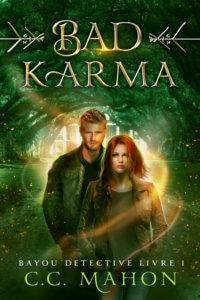 Couverture du roman Bad Karma