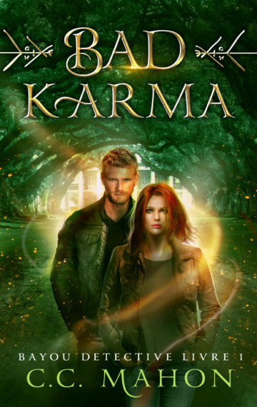 Couverture du roman Bad Karma